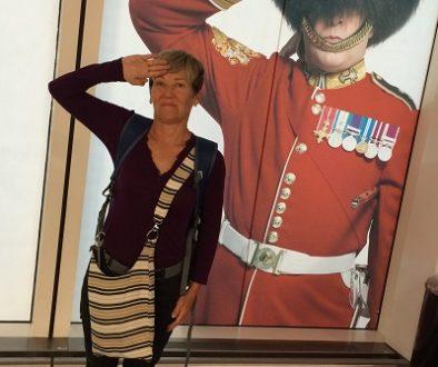 Bobbie with soldier sm